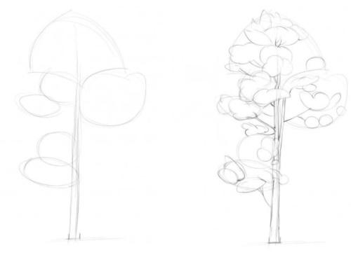 Легкие рисунки карандашом поэтапно для начинающих для срисовки, скетчбука