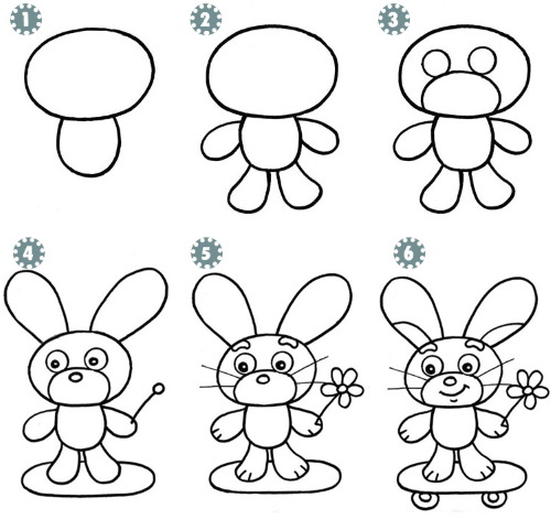 Милые рисунки для срисовки для девочек 9-14 лет в личный дневник
