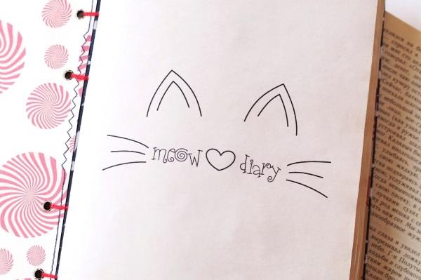 Рисунки для девочек 7-12 лет для срисовки карандашом в личный дневник