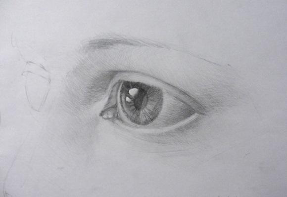 Рисунки 3д карандашом поэтапно для начинающих: лицо человека, голова, глаза, портрет