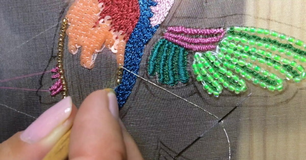 Вышивка люневильским крючком для начинающих своими руками, инструкции, уроки
