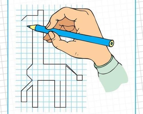 Графические рисунки по клеточкам. Графические диктанты для детей в тетради