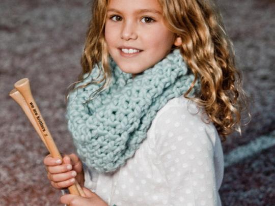 Вязание детского снуда спицами схемы и описание