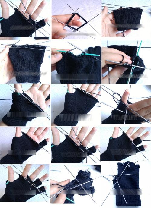 Связать перчатки спицами. Схемы и описание для начинающих