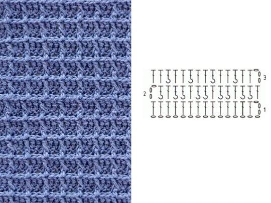 Вязание крючком для начинающих, схемы с подробным описанием