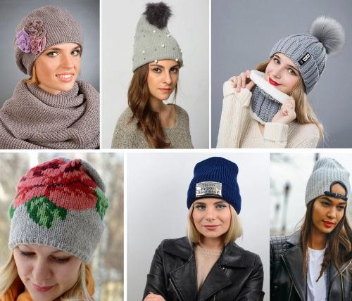 Вязаные шапки 2020 года. Модные тенденции, новые модели для женщин