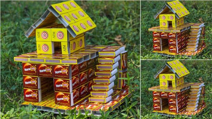 Поделки из спичечных коробков (1-5 класс) по технологии: танк, животное, дом, машина