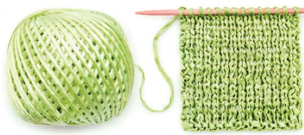 Объемная пряжа для вязания спицами, руками, крючком