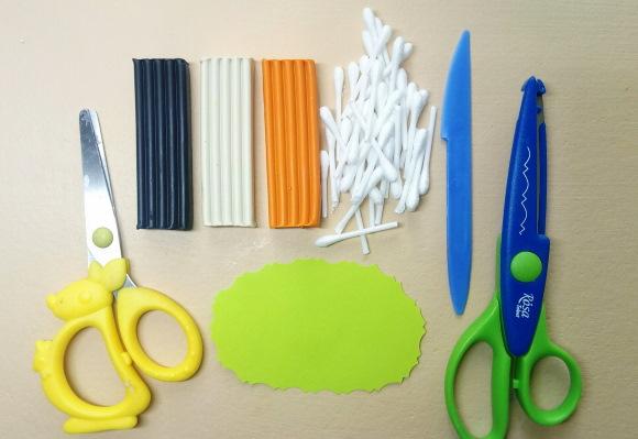 Поделки из ватных палочек, дисков, пластилина своими руками
