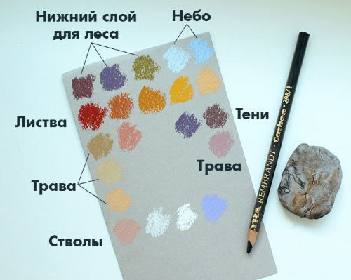 Рисунки масляной пастелью для начинающих поэтапно красивые, простые, легкие