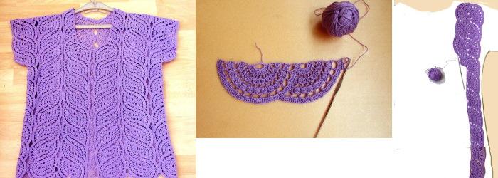 Схемы вязания крючком кофточек для женщин: модные, летние. Схемы с описанием