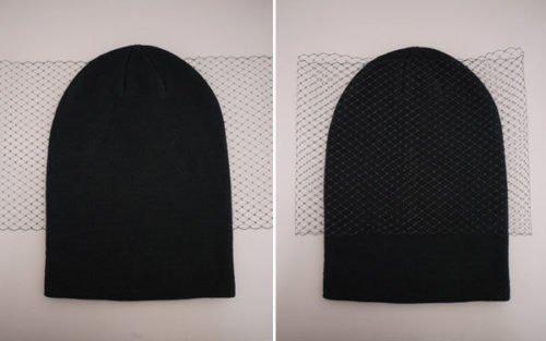 Как украсить вязаную шапку для женщины бусинами, мехом, стразами, бисером. Фото