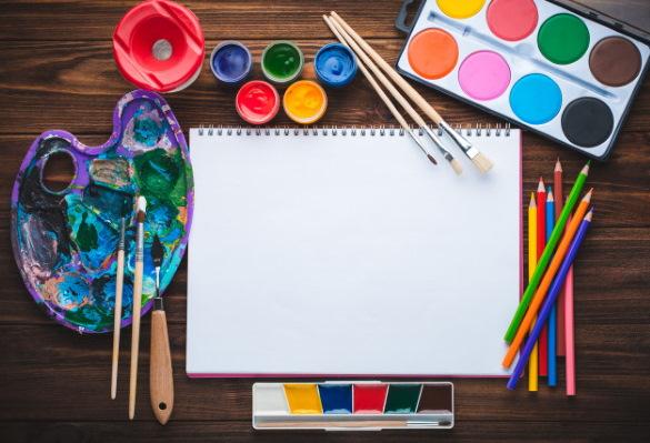 Рисунок синицы для детей карандашом, акварелью, цветной