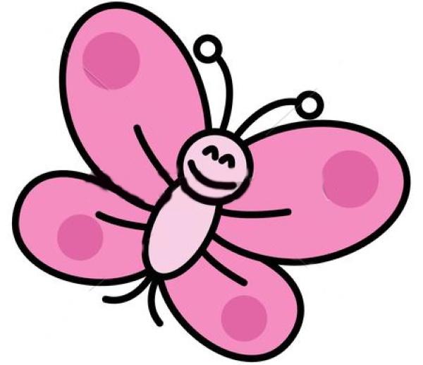 Бабочка рисунки для детей, контур, раскраски карандашом, красками, гуашью