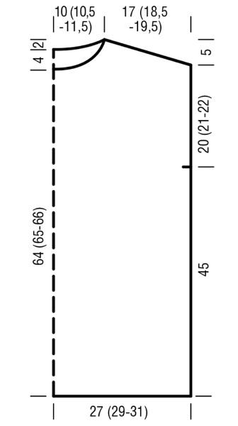 Безрукавка женская вязанная спицами. Схемы с описанием, размеры
