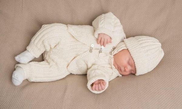 Костюмчики для новорожденных: мальчика, девочки на выписку. Как связать спицами, схемы с описанием