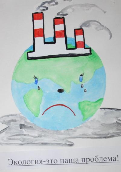 """Рисунки на тему """"Берегите природу"""" в детский сад, школу карандашом поэтапно для начинающих"""