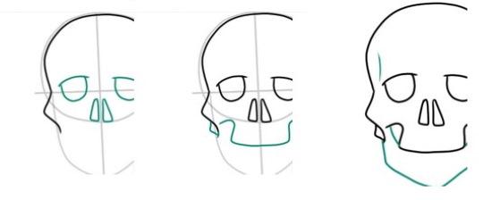 Страшные рисунки карандашом для срисовки, легкие для начинающих: клоуны, монстры, лица, аниме, черепа
