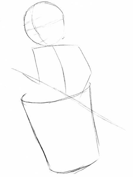 Баба-Яга рисунок для детей карандашом для срисовки, раскраска в ступе, избушке, полный рост добрая, злая