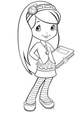 Как нарисовать девочку с длинными волосами карандашом. Рисунок пошагово, раскраска, картинки
