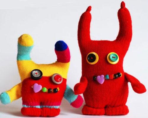 Поделки из перчаток своими руками резиновых, старых. Мастер-классы пошагово