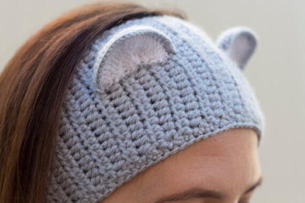 Повязки на голову для женщин спицами, схемы с описанием пошагово, фото