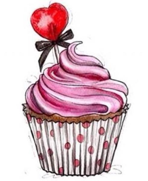 Вкусняшки и сладости для детей. Картинки для срисовки