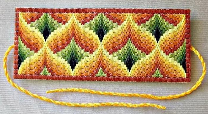 Вышивка Барджелло для начинающих. Схемы, мастер-классы с описанием на сетке, пластиковой канве, одежде