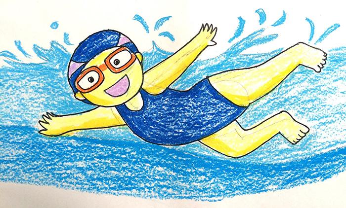Рисунок на тему «Спорт глазами детей» 1-5 класс карандашом, красками