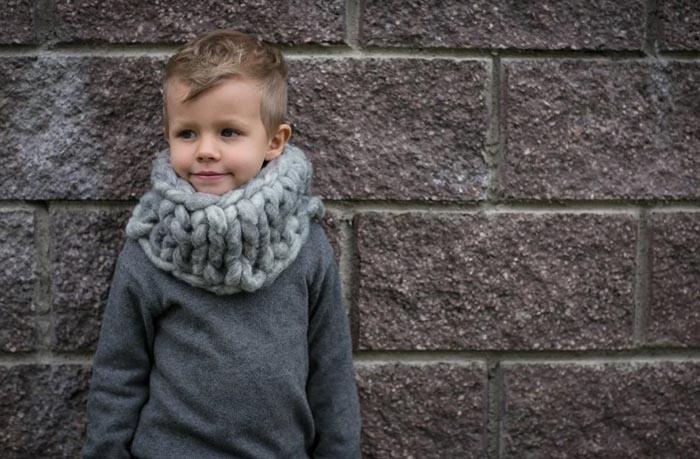 Снуд спицами для мальчика. Схемы вязания с описанием пошагово с фото