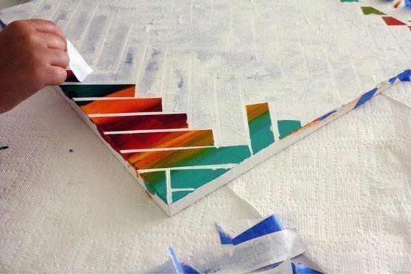 Акриловые краски для рисования. Как пользоваться на холсте, ткани, стенах
