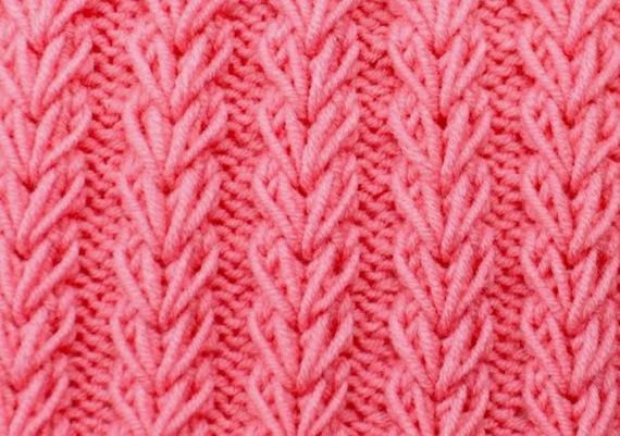 Узоры для шапки из толстой пряжи. Схемы и описание вязания спицами