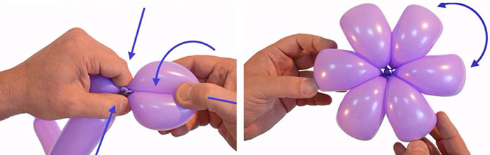 Фигуры из шаров своими руками для начинающих. Как делать пошагово, фото
