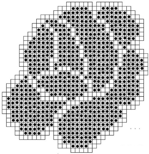 Прямоугольная салфетка крючком. Схема и описание, фото, видео