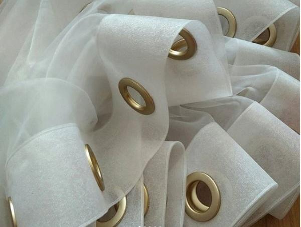 Как установить люверсы самому на шторы, одежду, тент, бумагу пошагово