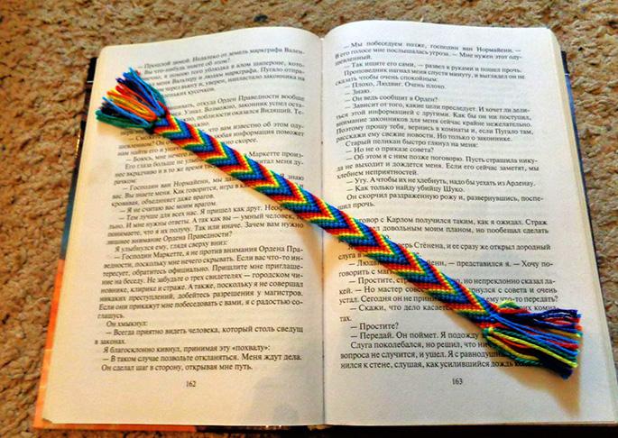 Как сделать закладку своими руками для учебников
