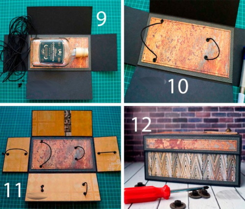 Коробка сюрприз с фотографиями своими руками. Схемы, фото