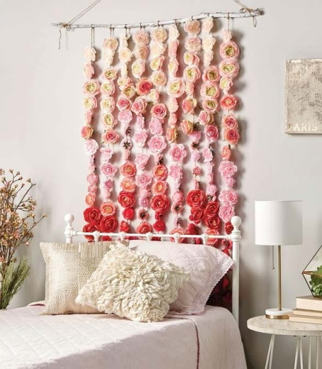 Поделки из искусственных цветов своими руками. Фото